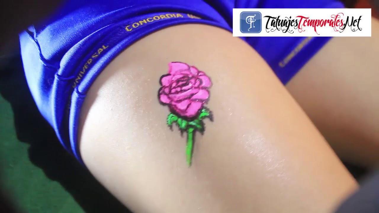 Cubriendo Un Lunar Con Un Tatuaje Temoral En Tatuajes Temporales Net Lima Peru