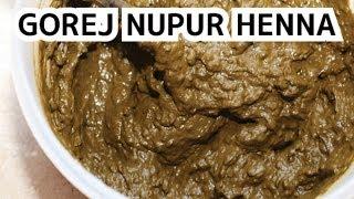 110 henna for hair gorej nupur henna