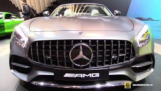 2017 Mercedes AMG GT C Roadster - Exterior and Interior Walkaround - 2017 Toronto Auto Show