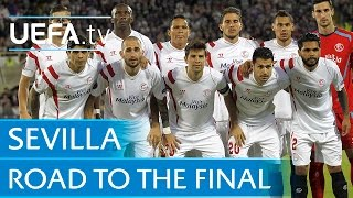 See how Sevilla made the final