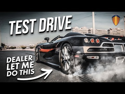 HYPERCAR TEST DRIVE GONE WRONG! *BAD DECISION*