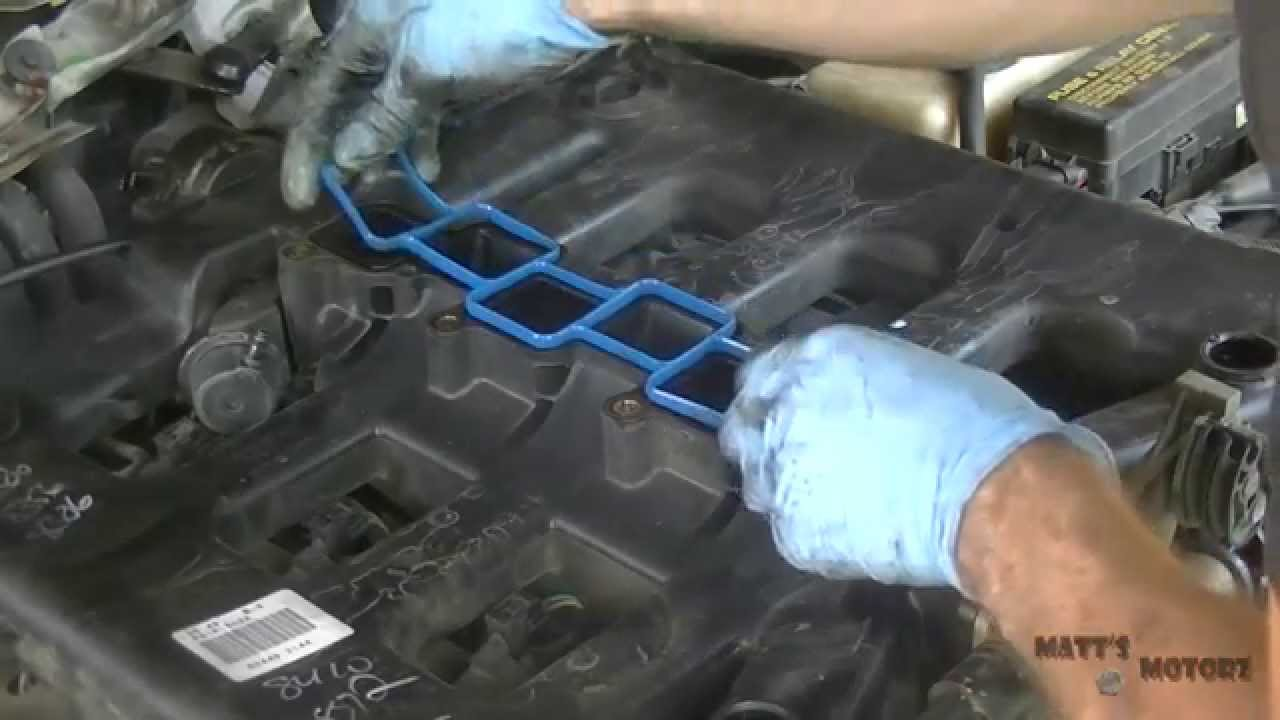 Intake Manifold Gaskets Replacement Part 1 2000 Chrysler