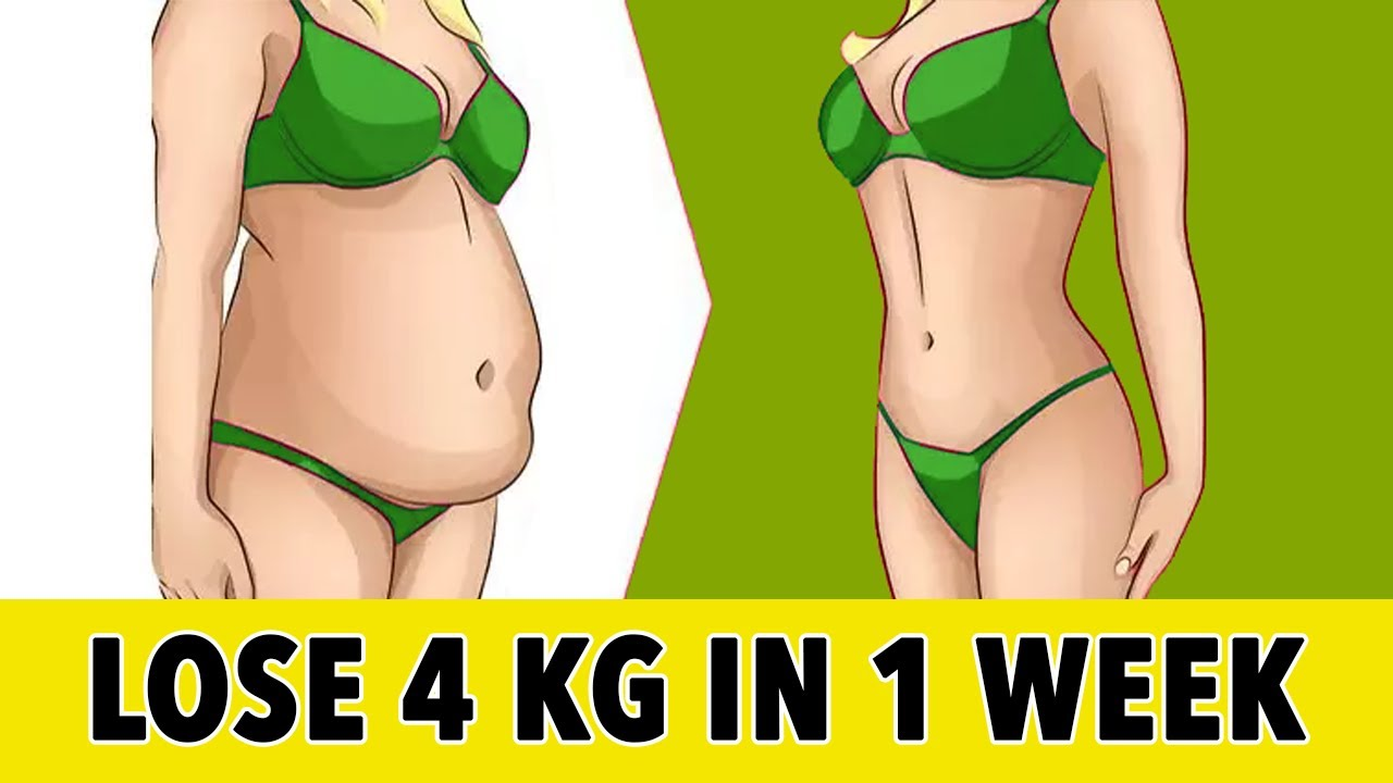 Lose 4 Kg At Home In 1 Week With This Workout