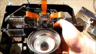 LCD rear projection teardown
