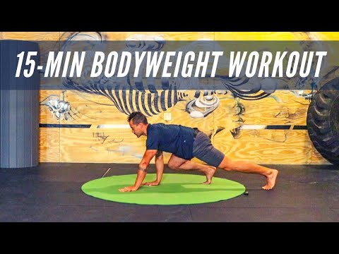 BODYWEIGHT TRAINING | PRIMAL MOVEMENT: 15 minute Interval Workout