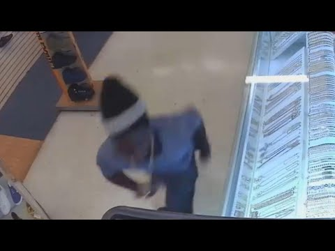 Suspected Thief Runs Out of Jewelry Store Wearing $60,000 Necklace