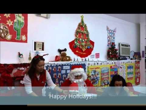 Bonnie Academy Santa's Visit 2015