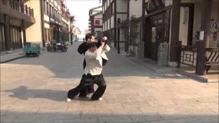 An Wushu - Bajiquan - Xiao Jia Form & Application