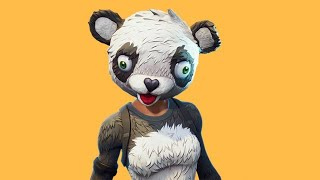 *NEW P.A.N.D.A TEAM LEADER SKIN* FORTNITE LIVE STREAM