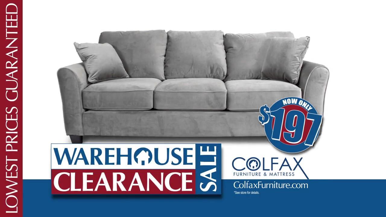 Colfax Furniture Warehouse Clearance Sale #1