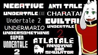 12 MORE UNDERTALE FAN GAMES IN 1 VIDEO!!