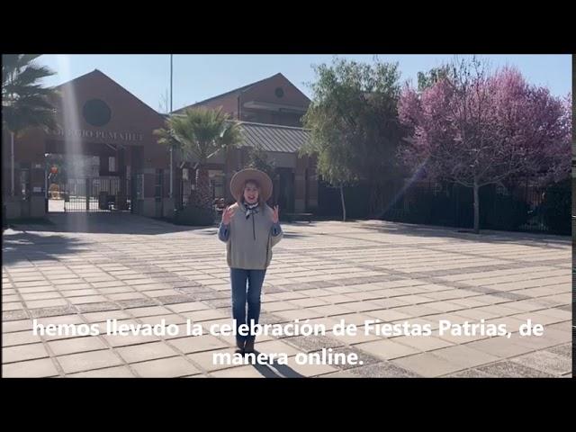 Saludo de Fiestas Patrias - Rectora Pumahue Chicureo