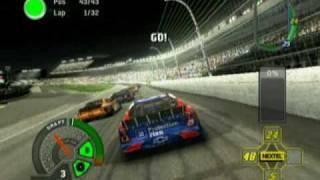 NASCAR 07 Xbox Gameplay