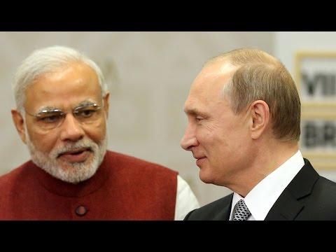 PM Narendra Modi Calls Russian President Vladimir Putin