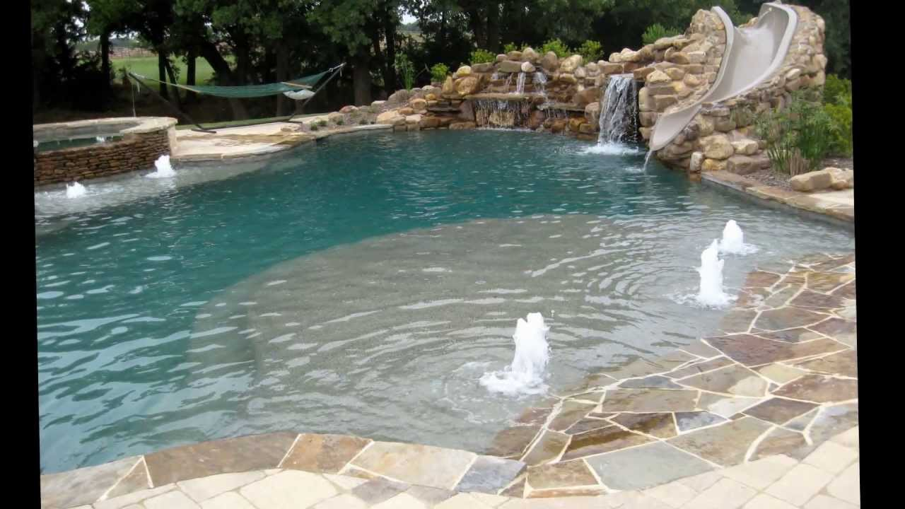 Dolce pools custom swimming pool builder in dallas fort for Custom inground swimming pools