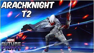 Arachknight Quest 100% + Rank Up, Build & Gameplay - Marvel Future Fight