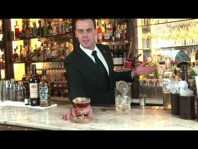 Cocktail guide: Straight Up (Manhattan style) - The Wild Geese® Golden Rum