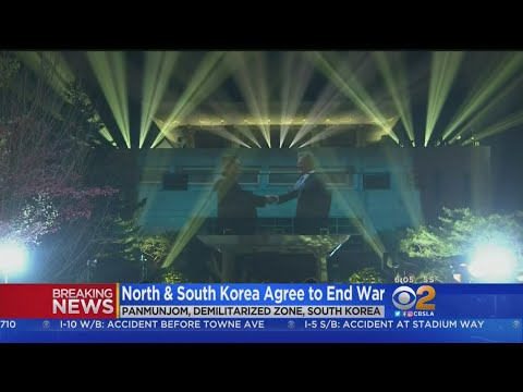 North, South Korean Leaders Agree To 'Complete Denuclearization'