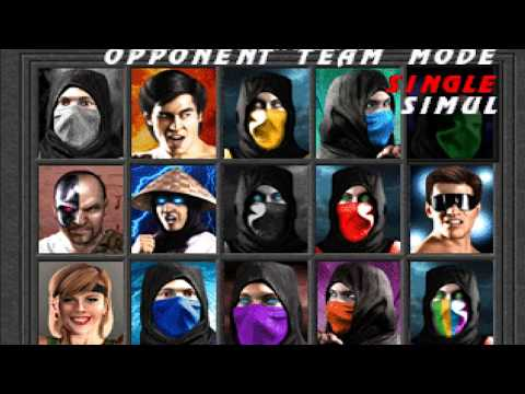 Mortal Kombat 1 (Remake) All Characters Gameplay