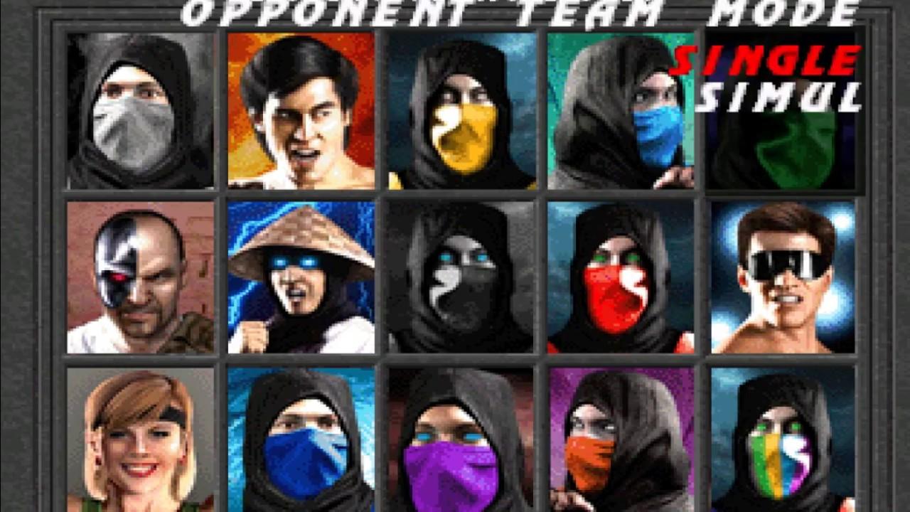 Mortal Kombat 1 Remake All Characters Gameplay Youtube