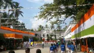 DOUGLAS MEMORIAL HIGHER SECONDARY SCHOOL BARRACKPORE 15 AUG 2013 PARADE