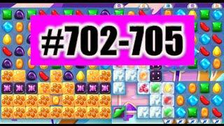Candy Crush Soda Saga Level 702-703-704-705 Done!