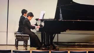 Beethoven concerto 2 Benjamin (10). Brandon (12)