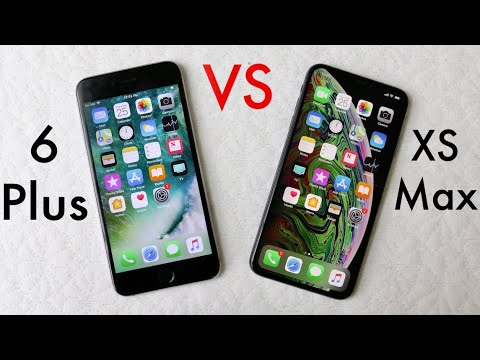 iphone xs max vs iphone 6 plus should you upgrade review youtube