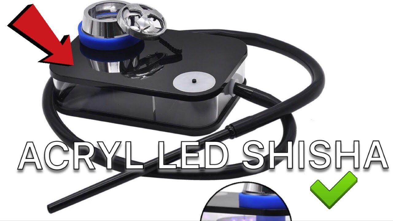 ACRYL LED SHISHA (WISH/JOOM)Unboxing+Test | RobsenTx