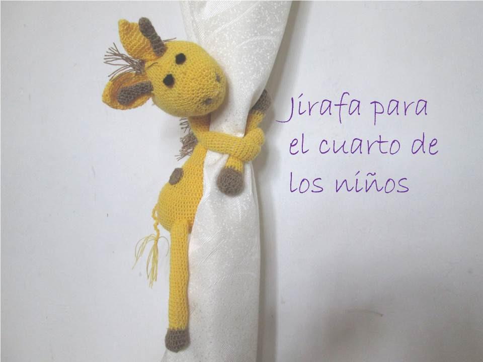 Jirafa a Crochet #3RetoCrochetero Mi Experiencia - YouTube