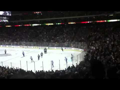 Minnesota wild score on a power play the game winning goal