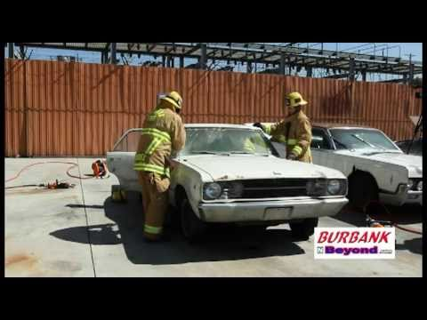 Burbank Fire Dept  Teaches UCLA Interns About Extrication Timeline