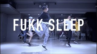 MoNKeY Hiphop @ A$AP Rocky - Fukk Sleep / Choreograph by Monkey