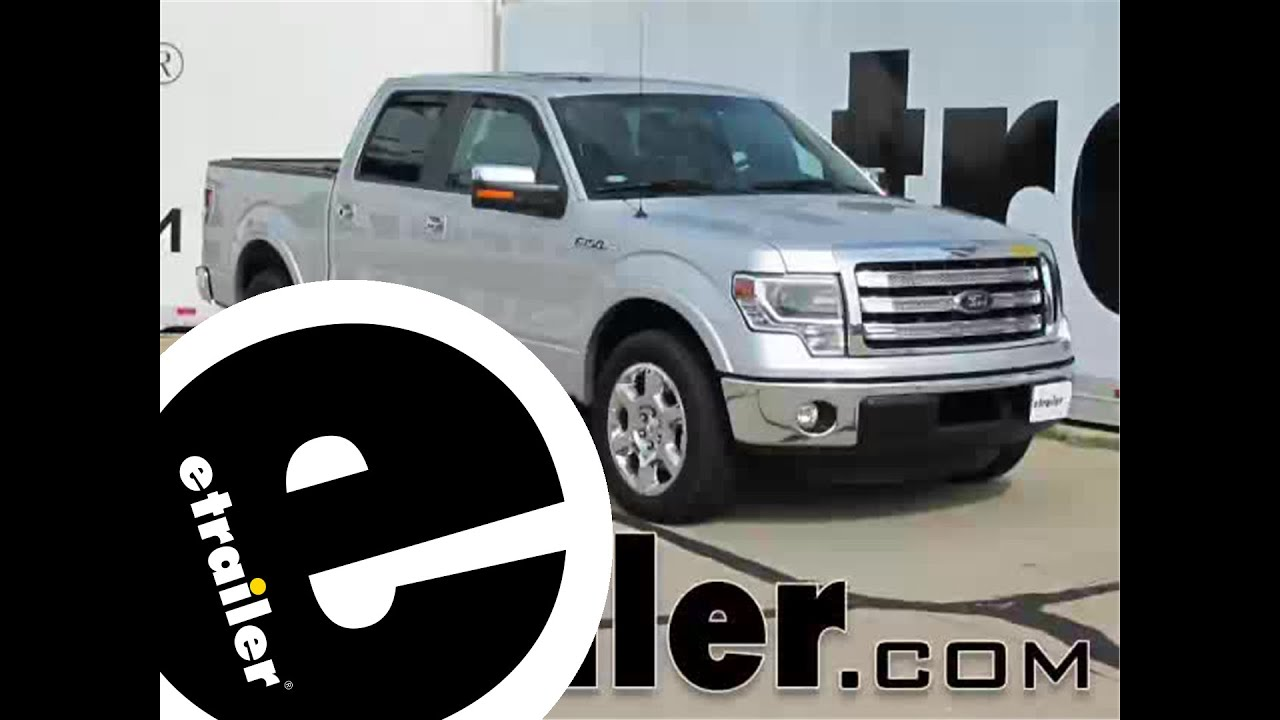 Etrailer Weathertech Side Window Air Deflectors Installation 2013 Ford F 150 Youtube