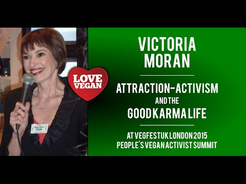 Victoria Moran FULL TALK on Attraction-Activism & the Good Karma Life