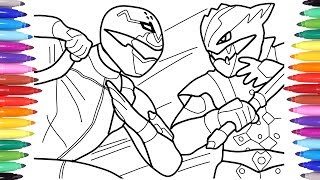 Power Rangers Coloring Pages For Kids Power Rangers ...