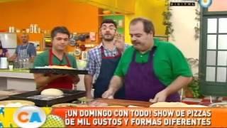 Pizza a la parrilla para todos los gustos (Parte 1)