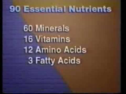 The 90 Essential Vitamins & Minerals Part 1 of 2