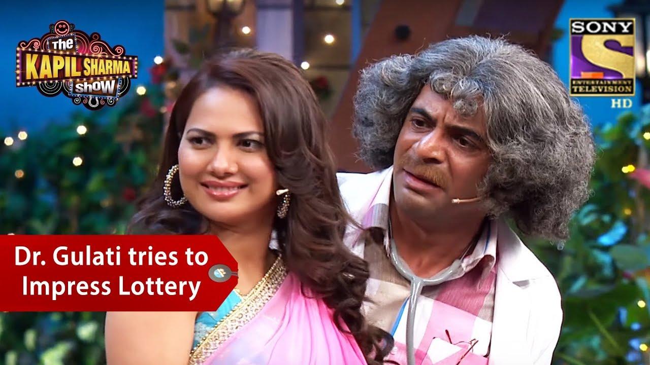 Dr  Gulati Tries To Impress Lottery - The Kapil Sharma Show