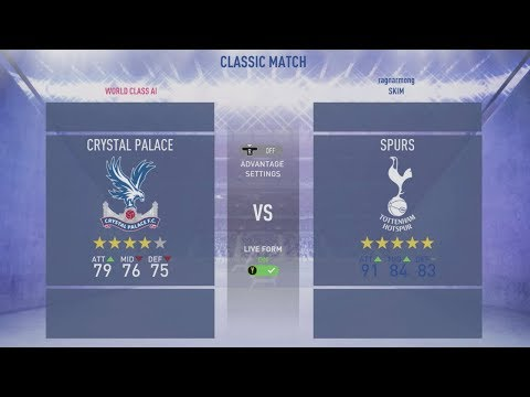 Crystal Palace v Tottenham | Predicted Line Up | FIFA Match Preview Mp3