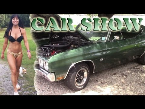 Car Show with Farm Girl! Madisonville/ New Orleans Crusin' on the River Show 2015