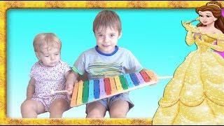 Invatam culorile xilofonului  Instrumentele muzicale ale Anabellei Show