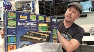Unboxing an Original Intellİvision Console for the 1st Time!