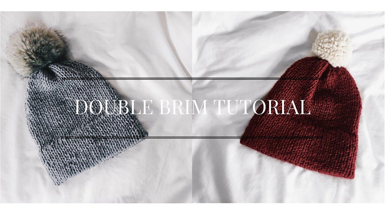 Double Brim Tutorial  7d985076c31