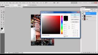 How to add colors to a picture in Photoshop