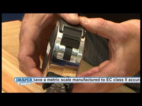 Draper Expert and Expert Plus Tape Measures From MicksGarage.com