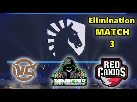PUBG GLOBAL CHAMPIONSHIP - Elimination - Match 3 - Team Liquid - VC Gaming - Rumblers - RED Canids