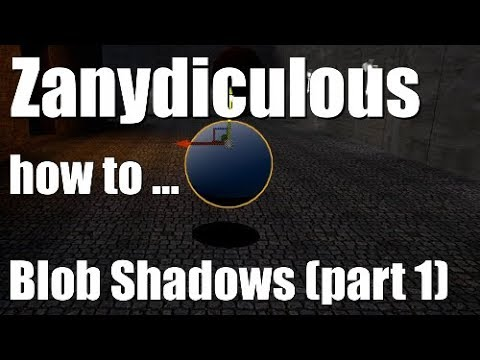 How to Create Blob Shadows in Unreal Engine 4 (Part 1)