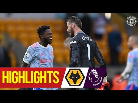 Greenwood & De Gea star in record victory |  Wolves 0-1 Manchester United |  Reflexes