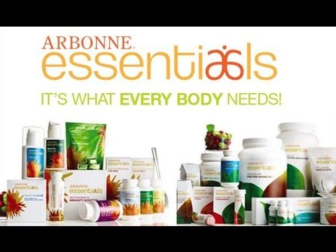 ARBONNE ESSENTIALS - Nutritional Product Overview with Dr